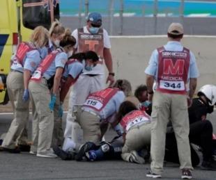 foto: Motociclismo: murió un piloto de 15 años tras un accidente en carrera