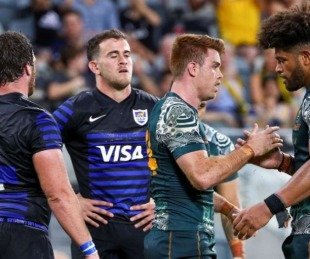 foto: Los Pumas perdieron ante Australia y acumularon su quinta derrota