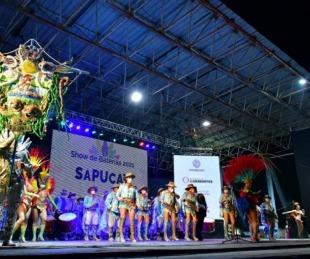 foto: Imponente show de baterías en el Anfiteatro Cocomarola