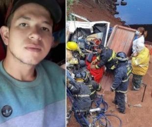 foto: Chaco: gran caravana por un joven camionero muerto en un choque