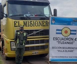 foto: Corrientes: demoraron camiones con 240 toneladas de soja ilegal