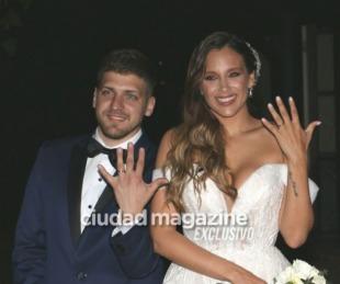 foto: Barbie Vélez y Lucas Rodríguez tuvieron una boda soñada