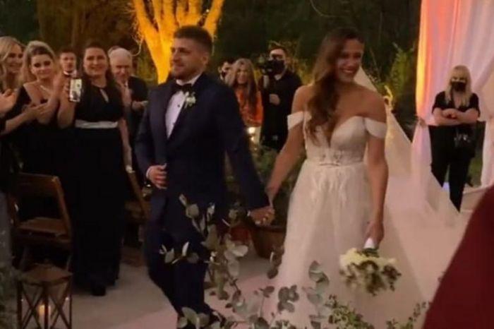 Barbie Vélez y Lucas Rodríguez tuvieron una boda soñada