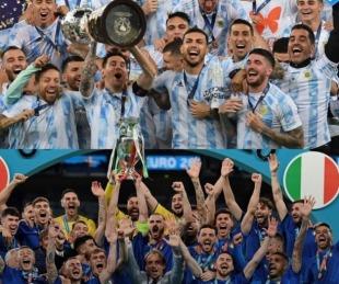 foto: Argentina enfrentará a Italia en un duelo de campeones