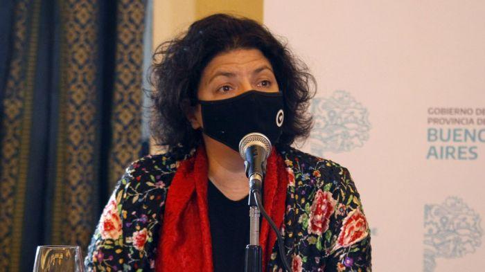 La ministra de Salud Carla Vizzotti será operada hoy de apendicitis