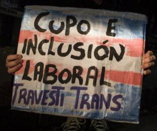 foto: Boletín Oficial: Ya rige la ley de cupo laboral travesti trans