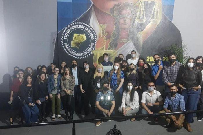 José Cotelo: Convocó a jóvenes abogados a la participación constructiva