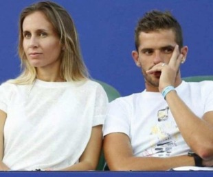 foto:  Gago y Gisela Dulko se habrían separado en medio de un escándalo