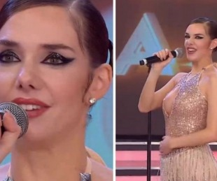 foto: A pura emoción: Julieta Nair Calvo anunció que está embarazada