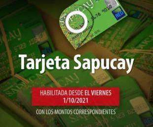 foto: Desde el 1 de octubre estarán habilitadas las Tarjetas Sapucay