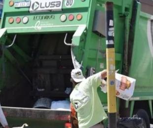 foto: Día Nacional del Recolector: el sábado no habrá servicio en Corrientes