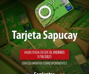 foto: Desde este viernes estarán habilitadas las Tarjetas Sapucay