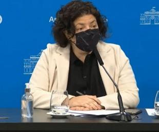 foto: Carla Vizzotti explicó por qué se operó en el Otamendi y no en un hospital público