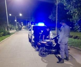 foto: Chaco: patota de motochorros atacó y robó a un par de jóvenes