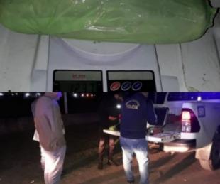 foto: Ruta 11: vieron policías, tiraron una bolsa con marihuana y huyeron