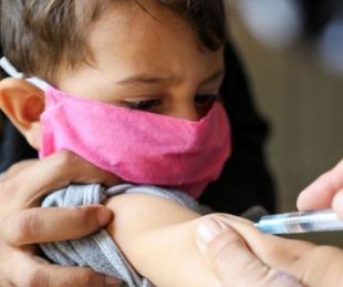 foto: La vacunación para chicos de 3 a 11 comenzará el martes 12 de octubre