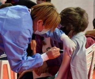 foto: Vacunas a menores de 11 años: