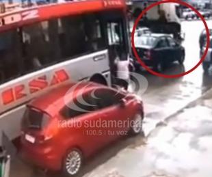 foto: Av. Independencia: Así fue el trágico accidente de un camión y una moto