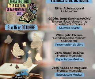 foto: Libres: Gran inauguración de la Feria del Libro y la Cultura de Frontera