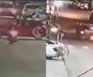 foto: Video: Dos choques en una misma noche y un conductor alcoholizado