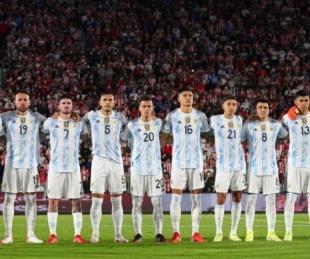 foto: Scaloneta invicta: Argentina llegó a 23 partidos seguidos sin derrotas
