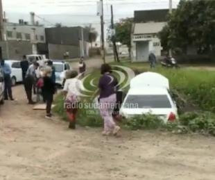 foto: Video: Venían de Misiones, se perdieron y cayeron a una zanja