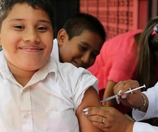 foto: Indican que para fin de año estarán vacunados con dos dosis todos los mayores de 3 años
