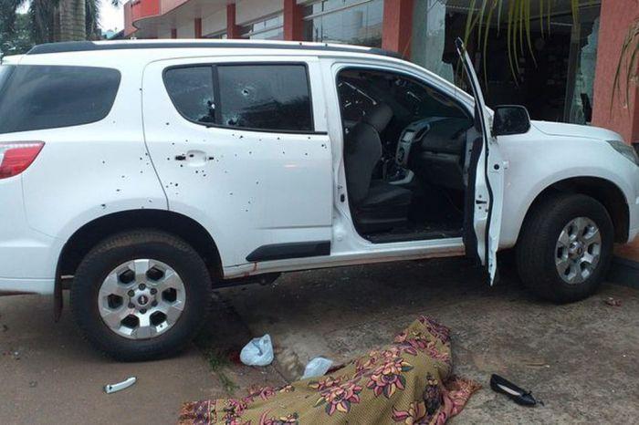 Sicarios asesinaron a la hija de un gobernador paraguayo