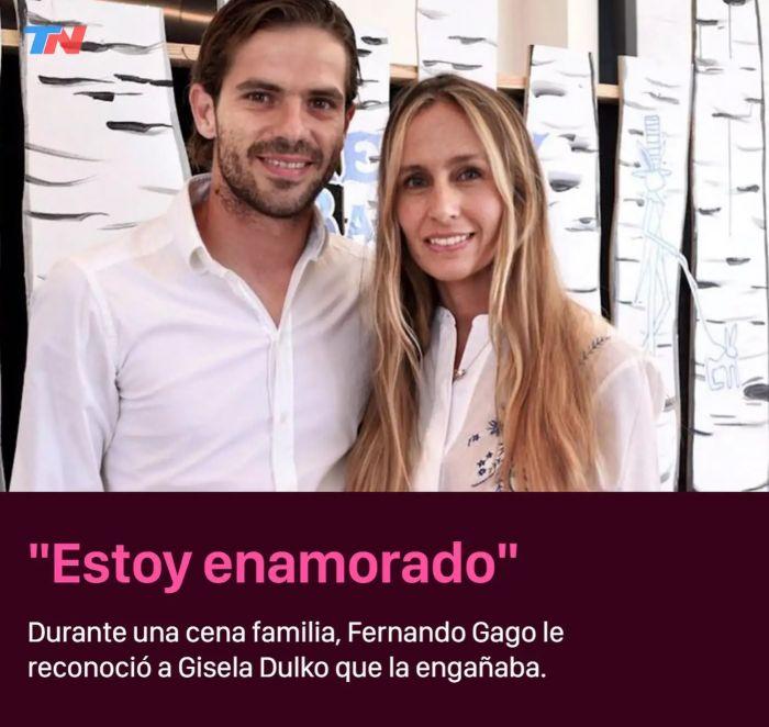 La drástica decisión de Gago y Gisela Dulko tras la separación
