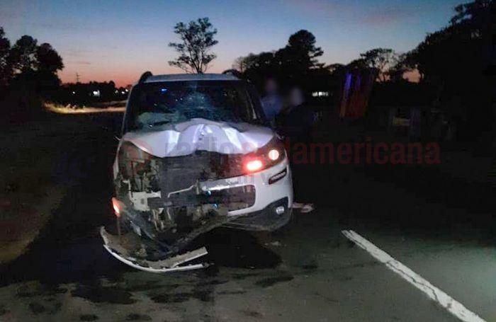 Trágico siniestro vial en Ruta 5: murió motociclista tras un choque