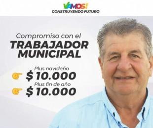 foto: Mercedes: Prometen plus de 10 mil pesos para municipales
