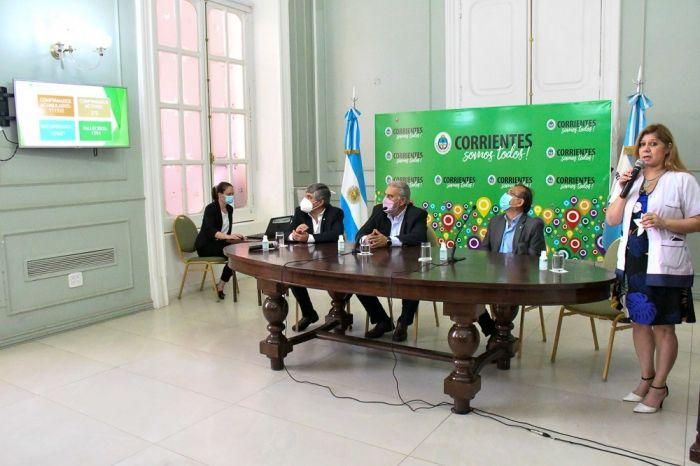 Covid: Corrientes tiene más del 50% de población con dos dosis