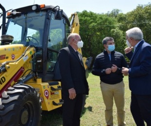 foto: Más de $40 millones en equipamientos para el mantenimiento de caminos rurales