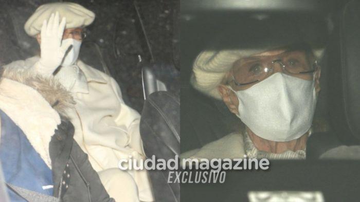 Mirtha Legrand recibió el alta: las fotos de la diva saliendo de la clínica