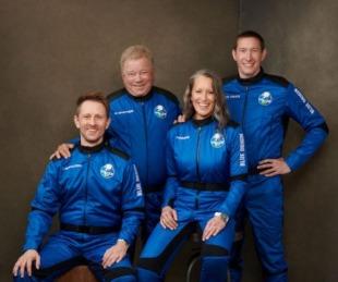 Blue Origin enviará al capitán Kirk de