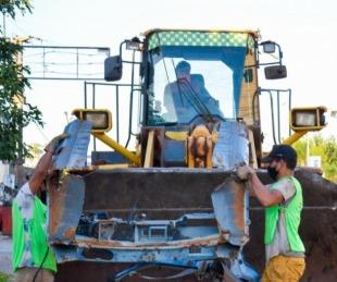 foto: Libres contra el Dengue: descacharrado y fumigación en los barrios