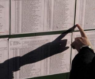 foto: Ya está el padrón definitivo para las elecciones del 14 de noviembre