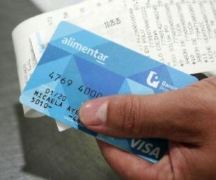 foto: Este viernes se activará el crédito de la Tarjeta Alimentar