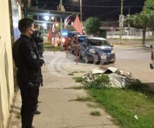 foto: Allanaron gomería y encontraron droga y una moto robada