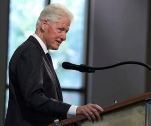 foto: Bill Clinton fue dado de alta tras pasar cinco noches hospitalizado