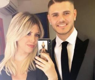 foto: Mauro Icardi fue a buscar a Wanda y volvieron juntos a su casa