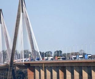 foto: Se abre el puente Posadas-Encarnación y la frontera de Bernardo de Irigoyen-Dionisio Cerqueira