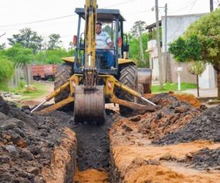 foto: El Municipio libreño avanza en la construcción de redes cloacales