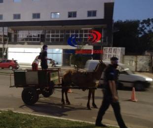 foto: Operativo policial: detuvieron a jóvenes conduciendo un carro