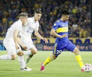 foto: Boca le ganó a Godoy Cruz y se mantiene expectante