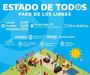 foto: Libres realizará operativo conjunto con ReNaPer, Pami, Anses y Migraciones