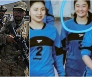 foto: Los talibanes decapitaron a una jugadora de vóley en Afganistán