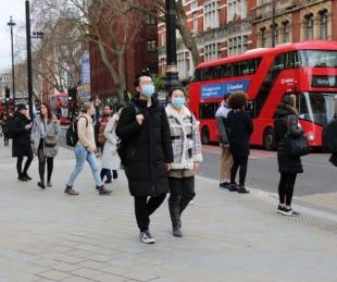 foto: Reino Unido registra unos 40 mil casos de Covid-19 al día