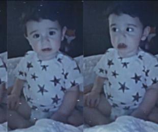 foto: Abel Pintos celebró el primer año de su hijo con un video