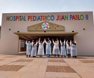 foto: El Hospital Pediátrico sin niños internados por coronavirus